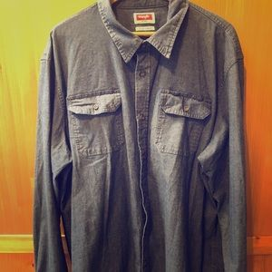 Wranglers Men's Button Uo